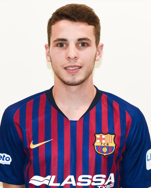 Fútbol Sala: Santi Rufino se entrena con el primer equipo del F.C. Barcelona