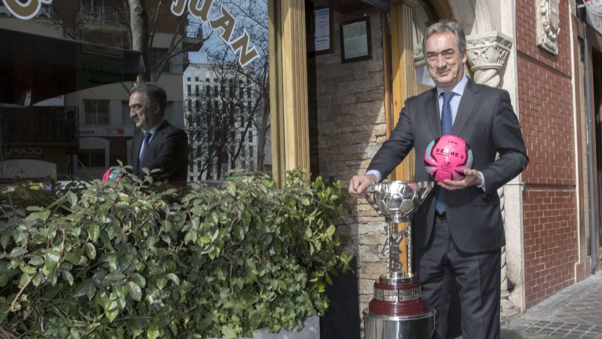 """Lozano: """"La Copa de España de Futsal ya no es sólo un torneo, es la gran fiesta"""""""