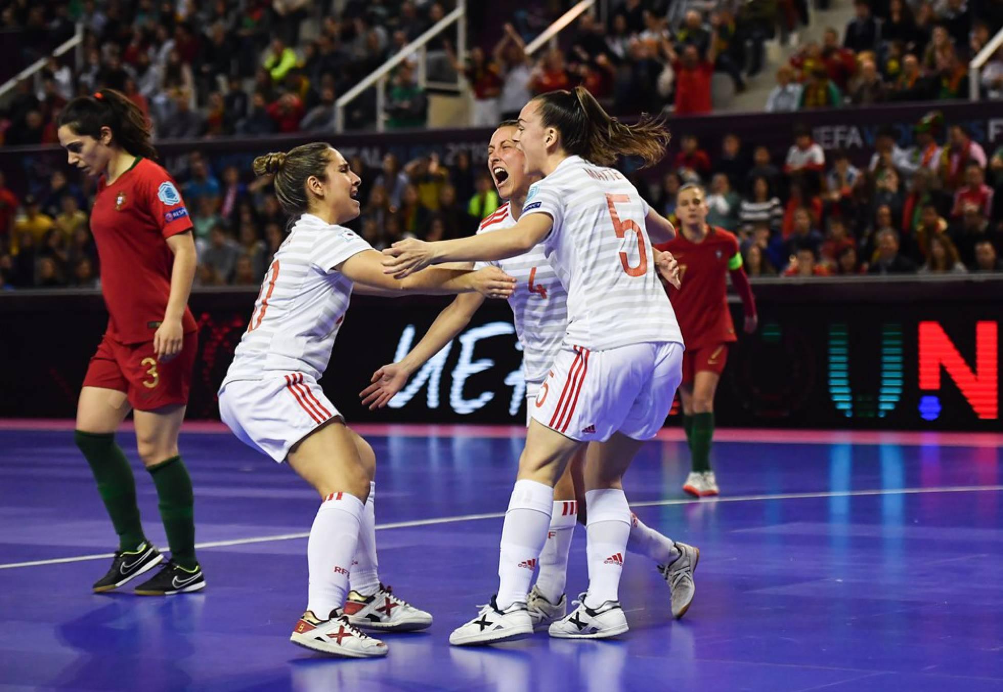 España gana el primer Europeo de fútbol sala femenino