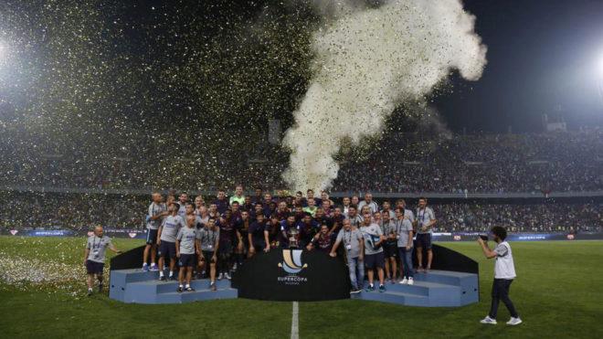 Supercopa de España de fútbol con modelo 'Final Four' se jugará fuera de España