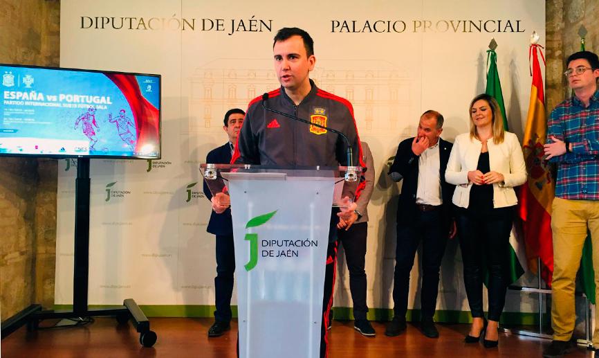 La selección española de fútbol sala Sub-19 ya está en Jaén para preparar el Preeuropeo de Georgia