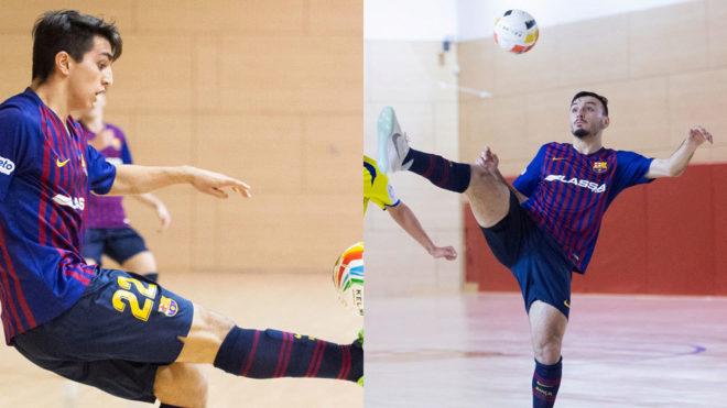 Juanjo Caro y Povill, los MVP de la Minicopa que ya rozan la élite