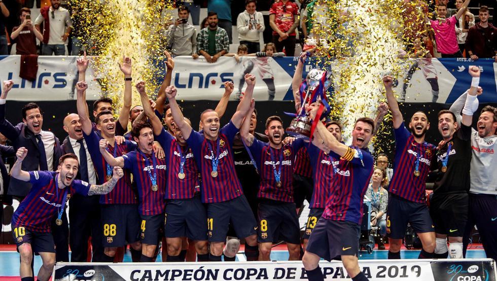 Málaga acogerá la final de la Copa de España de futsal 2020