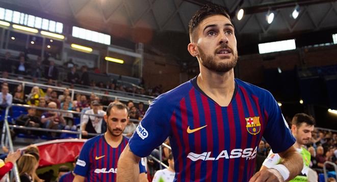 Adolfo, el jugador total para el final de temporada del Barça Lassa