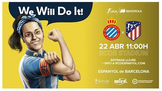 El Espanyol prepara un día histórico para el fútbol femenino