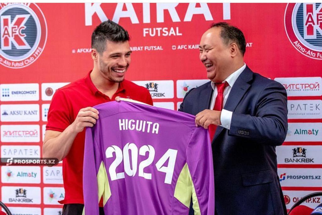 Higuita extendió el contrato con AFC Kairat hasta 2024!