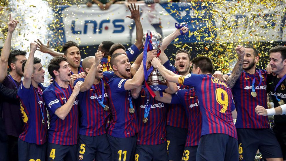 Campeon copa del rey de futbol sala