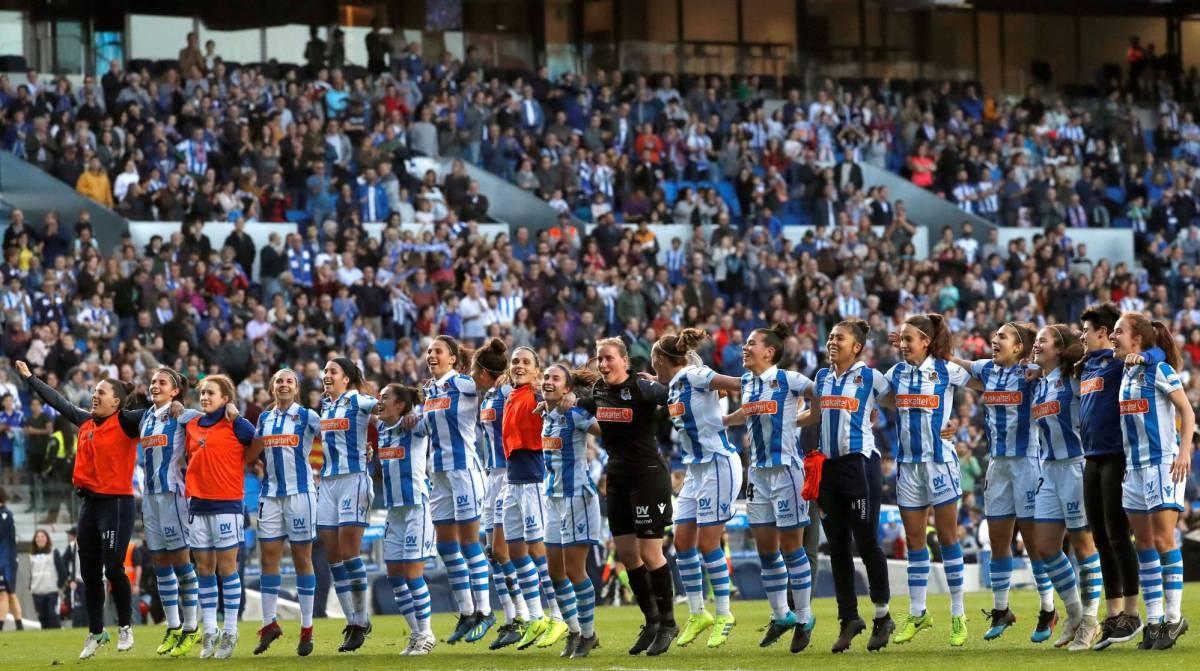 Final Copa Reina Futbol Femenino