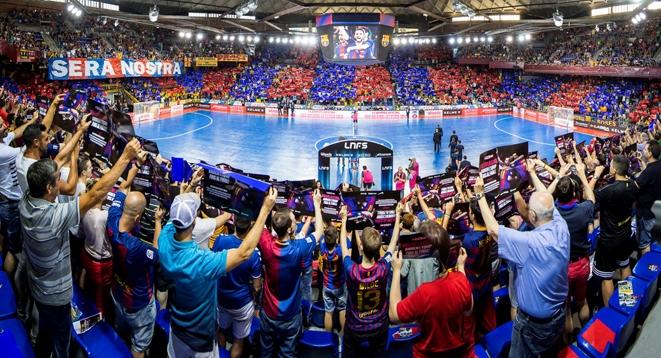 Fútbol Sala: Todo vendido en el Palau para el Barça Lassa-ElPozo