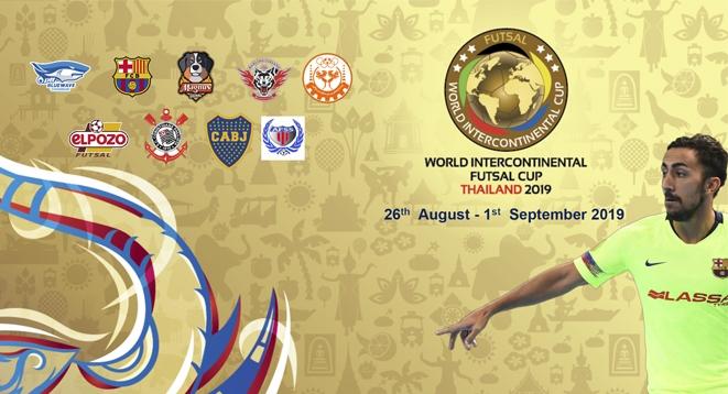 Bangkok acogerá la World Intercontinental Futsal Cup del 26 de agosto a 1 de septiembre
