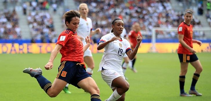 España . USA futbol femenino