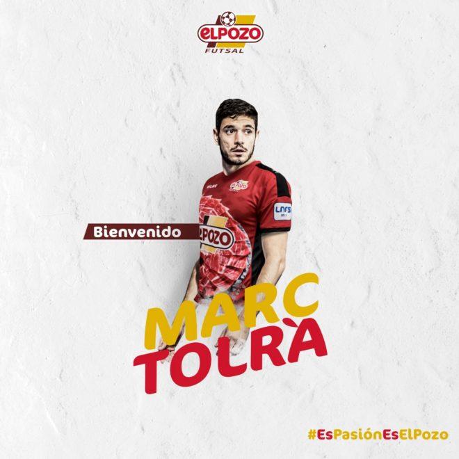 Fútbol Sala: ElPozo Murcia hace oficial el fichaje de Marc Tolrà