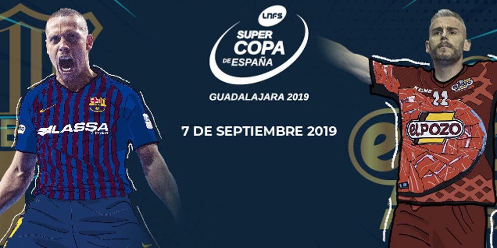 La Lnfs lleva la Supercopa de fútbol sala a Guadalajara en 2019-2020
