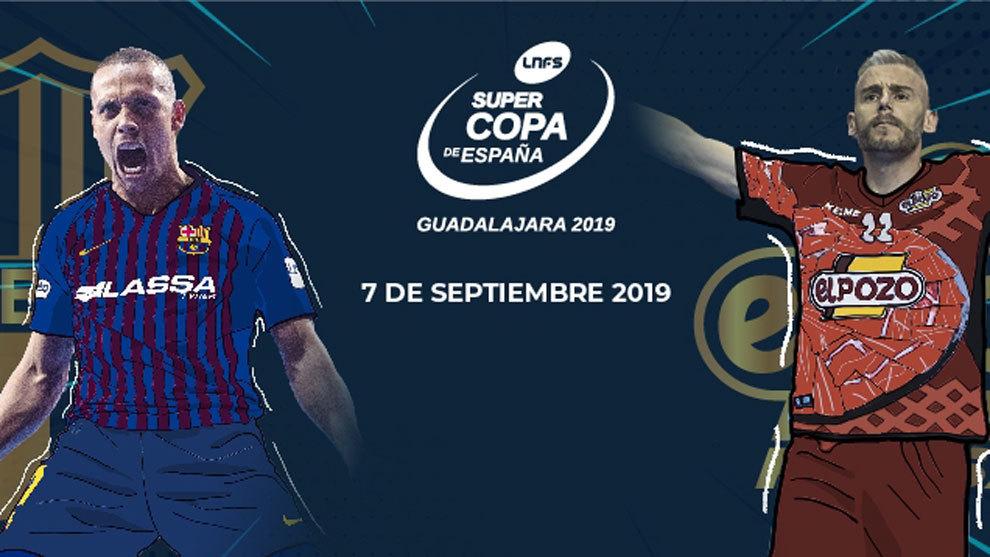 Fútbol Sala: La Lnfs lleva la Supercopa de fútbol sala a Guadalajara